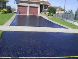 Oil based Driveway sealing options